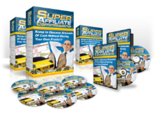 Pay for Super Affiliate Commissions video tutorials