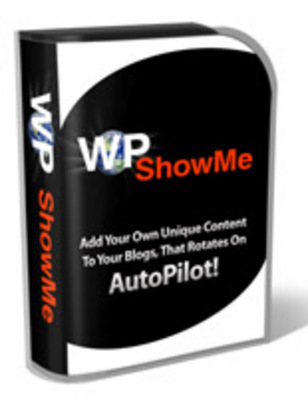 Pay for WP showme wordpress plugin with PLR