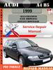 Thumbnail Audi A4 B5 1999 Factory Service Repair Manual PDF