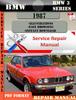 Thumbnail BMW 3 Series 1987 Factory Service Repair Manual PDF