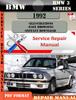 Thumbnail BMW 3 Series 1992 Factory Service Repair Manual PDF