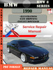Thumbnail BMW 8 Series 1990 Factory Service Repair Manual PDF