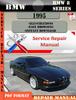 Thumbnail BMW 8 Series 1995 Factory Service Repair Manual PDF