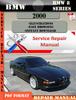 Thumbnail BMW 8 Series 2000 Factory Service Repair Manual PDF