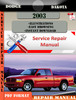 Thumbnail Dodge Dakota 2003 Factory Service Repair Manual PDF.zip