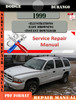 Thumbnail Dodge Durango 1999 Factory Service Repair Manual PDF.zip