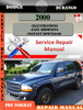 Thumbnail Dodge Durango 2000 Factory Service Repair Manual PDF.zip