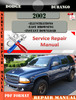 Thumbnail Dodge Durango 2002 Factory Service Repair Manual PDF.zip