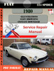 Thumbnail Fiat 124 Spider 1980 Factory Service Repair Manual PDF.zip