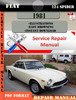 Thumbnail Fiat 124 Spider 1981 Factory Service Repair Manual PDF.zip