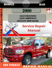 Thumbnail Dodge Ram 2000 Factory Service Repair Manual PDF.zip