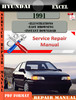 Thumbnail Hyundai Excel 1991 Factory Service Repair Manual PDF
