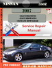 Thumbnail Nissan 350Z 2007 Factory Service Repair Manual PDF