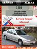 Thumbnail Nissan Altima 1993 Factory Service Repair Manual PDF
