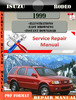 Thumbnail Isuzu Rodeo 1999 Digital Factory Repair Manual