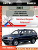 Thumbnail Isuzu Rodeo 2002 Digital Factory Repair Manual