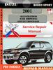 Thumbnail Isuzu Rodeo Sport 2001 Digital Factory Repair Manual