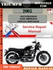 Thumbnail Triumph Bonneville T100 2005 Digital Repair Manual