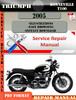 Thumbnail Triumph Bonneville T100 2005 Digital Repair Manual