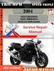 Thumbnail Triumph Speed Triple 2004 Digital Repair Manual