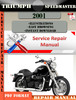 Thumbnail Triumph Speedmaster 2001 Digital Repair Manual
