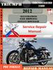 Thumbnail Triumph Thunderbird 1600 2012 Digital Service Repair Manual