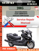 Thumbnail Suzuki AN 650 Burgman 2005 Digital Service Repair Manual