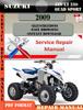 Thumbnail Suzuki ATV LT 250 Quad Sport 2009 Digital Service Manual