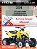 Thumbnail Suzuki ATV LT 400 2004 Digital Factory Service Repair Manual