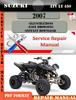 Thumbnail Suzuki ATV LT 450 2007 Digital Factory Service Repair Manual