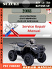 Thumbnail Suzuki ATV LT 750 KingQuad 2008 Digital Service Repair