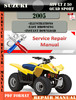 Thumbnail Suzuki ATV LT Z 50 QUAD SPORT 2005 Digital Service Repair