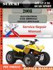 Thumbnail Suzuki ATV LT Z 50 QUAD SPORT 2008 Digital Service Repair