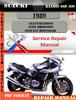 Thumbnail Suzuki Bandit GSF 400 1989 Digital Service Repair Manual