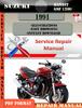 Thumbnail Suzuki Bandit GSF 1200 1991 Digital Service Repair Manual
