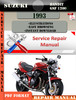 Thumbnail Suzuki Bandit GSF 1200 1993 Digital Service Repair Manual