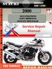 Thumbnail Suzuki Bandit GSF 1200 2000 Digital Service Repair Manual