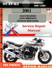 Thumbnail Suzuki Bandit GSF 1200 2001 Digital Service Repair Manual