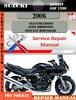 Thumbnail Suzuki Bandit GSF 1200 2006 Digital Service Repair Manual