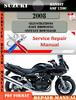 Thumbnail Suzuki Bandit GSF 1200 2008 Digital Service Repair Manual