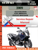 Thumbnail Suzuki DL 1000 V-Strom 2009 Digital Service Repair Manual