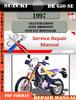 Thumbnail Suzuki DR 650 SE 1997 Digital Service Repair Manual