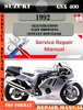 Thumbnail Suzuki GSX 400 1992 Digital Factory Service Repair Manual