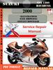 Thumbnail Suzuki GSX 1300 Hayabusa 2000 Digital Service Repair Manual