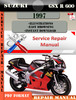 Thumbnail Suzuki GSX R 600 1997 Digital Factory Service Repair Manual