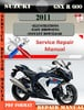 Thumbnail Suzuki GSX R 600 2011 Digital Factory Service Repair Manual