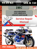 Thumbnail Suzuki GSX R 750 1997 Digital Factory Service Repair Manual