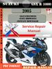 Thumbnail Suzuki GSX R 1000 2005 Digital Factory Service Repair Manual