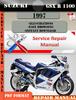 Thumbnail Suzuki GSX R 1100 1997 Digital Factory Service Repair Manual