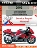 Thumbnail Suzuki GSX R 1300 Hayabusa 2002 Digital Service Repair Manua